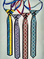 Галстук в украинском стиле из репсовой ленты в ассортименте . .