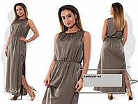 Платье шелковое с 42 ро 54 размер Авокадо ян