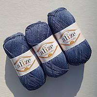 Alize Cotton Baby soft (Ализе Коттон Беби софт) 203 джинсовый