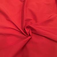 Поплин темно-красный