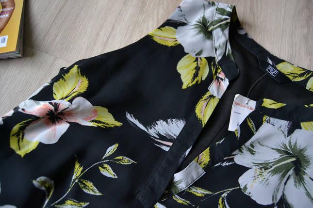 Новое цветочное шифоновое платье F&F а-силуэта, фото 2
