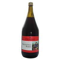 Вино игристое Fiorelli Frizzantino Rosso, 1.5 л (шт)