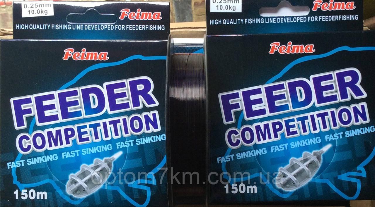 Леска Feima Feeder Competetion 0,25-0,40