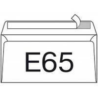 Конверт E65 110х220 скл (0+1), за (1 000 шт)
