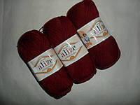Alize Cotton Baby soft (Ализе Коттон Беби софт) 57 бордо