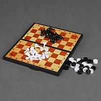 """Гр Шашки 5197 (30) 2в1 (шашки  + шахматы) """"Максимус"""""""