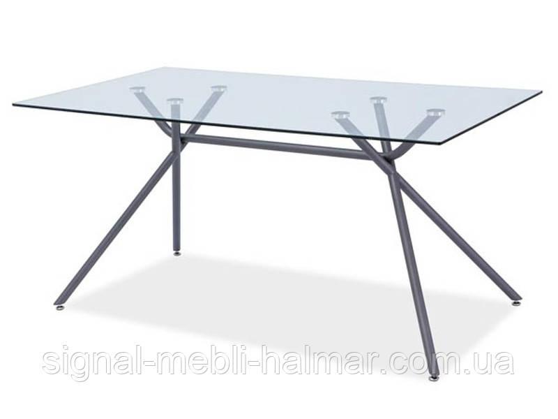 Стол кухонный стеклянный Nevio 160*90 signal
