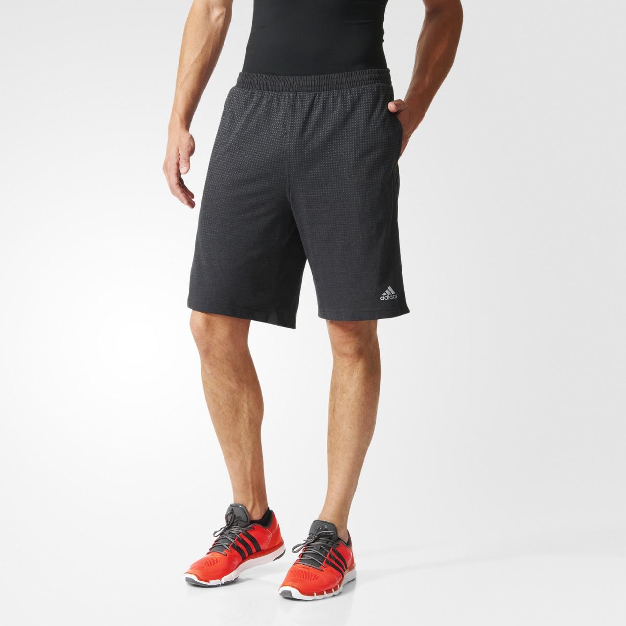 Шорты спортивные, мужские adidas AB6963 AK SHORT SOLID Clima Cool адидас