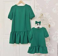 Женское-детское Платье FAMILY LOOK Мама-Дочка, фото 1