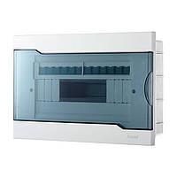 Коробка для автоматов Lezard с прозрачной крышкой ЩРВ-П-12 для внутренней установки 12-и модульных устройств