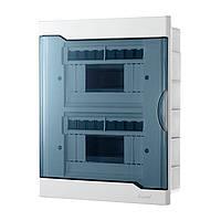 Щиток для автоматов Lezard с прозрачной крышкой ЩРВ-П-16 для внутренней установки 16-и модульных устройств
