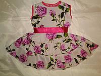 Летнее платье на 4 - 5 лет