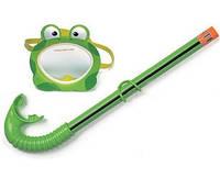 Intex 55940 - Детский набор для плаванья Froggy Fun Маска + Трубка