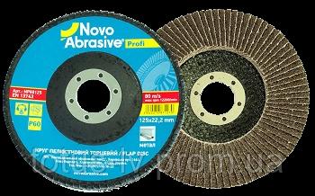 Круг лепестковый торцевой Novoabrasive