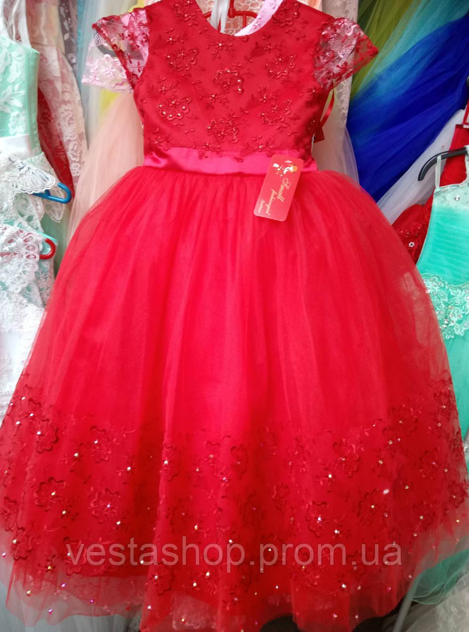 """Нарядное красное платье на выпускной бал - """"Веста"""" - оптово-розничный интернет-магазин в Хмельницком"""