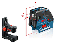 Лазерный нивелир Bosch GCL 25 + BM 1
