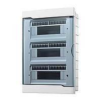 Коробок для автоматов Lezard с прозрачной крышкой ЩРВ-П-36 для внутренней установки 36-и модульных устройств
