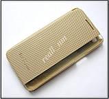 Золотой Quick Cover чехол книжка для LG X Power K220DS, фото 2