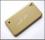 Золотой Quick Cover чехол книжка для LG X Power K220DS, фото 3