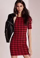Новое платье в шотландскую клетку Missguided