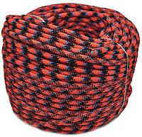 Веревка шнур 8 мм плетеная ТМ Крокус