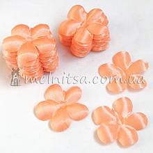 Заготовка для цветка вишня, персиковый