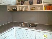Стеклянный фартук на кухню, фото 1