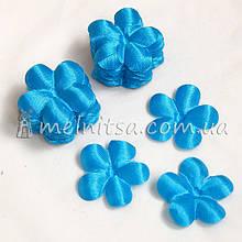 Заготовка для цветка вишня, ярко-голубой