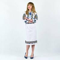 Вышитое платье Лен в Украине. Сравнить цены 82f375d270b12