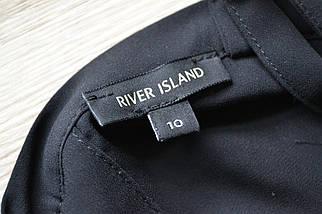 Черный топ с пуговицами на спинке River Island, фото 3