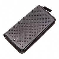 Кожаный кошелек Montblanc MOD-05 черный