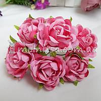 """Букет роз """"Аве Мария"""" 3,5 см, малиновый"""