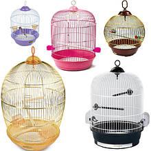 Круглые клетки для птиц, попугаев, канареек, амадин