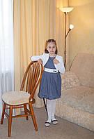 Платье детское трикотажное в комплекте болеро