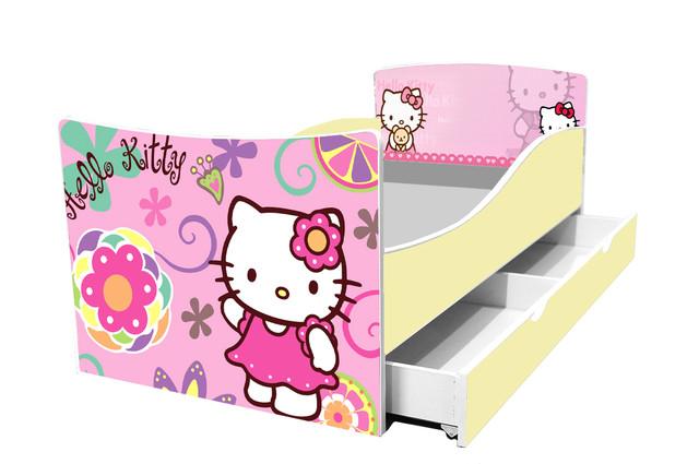 Кровать Hello kitty