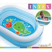 Детский надувной бассейн 57482 Intex, 163х107х46 см