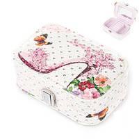 Шкатулка чемоданчик для украшений  15х10х5см