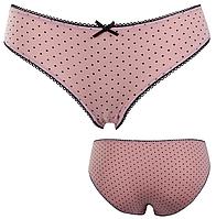 """Трусики мини бикини женские """"Ego"""" KLW 1325 ( 2 шт в уп) Must Have цвет розовый"""