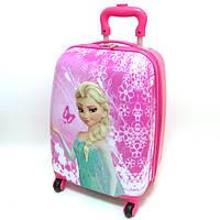 """Детский чемодан дорожный """"Josef Otten"""" Frozen-6, Холодное сердце на четырех колесах 520331"""