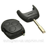 Корпус ключа Ford Fiesta Fusion Focus Mondeo з лезом FO21