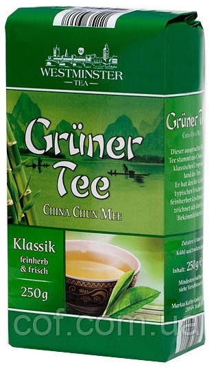 Чай зеленый заварной Westminster 250г