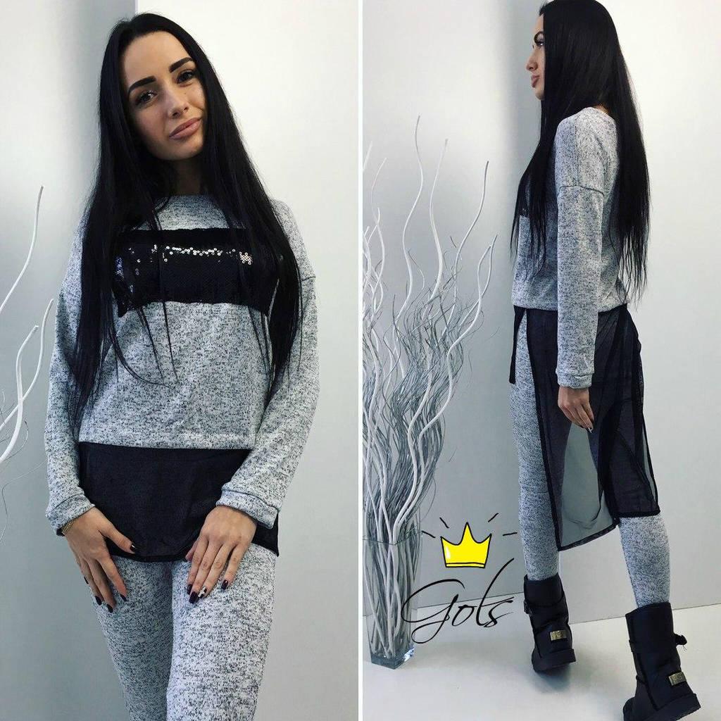 Костюм женский 48+ арт 53098-203