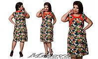 Платье льняное большого размера 52-60 разные цвета