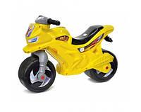 Мотоцикл детский беговел музыкальный 501Y Желтый