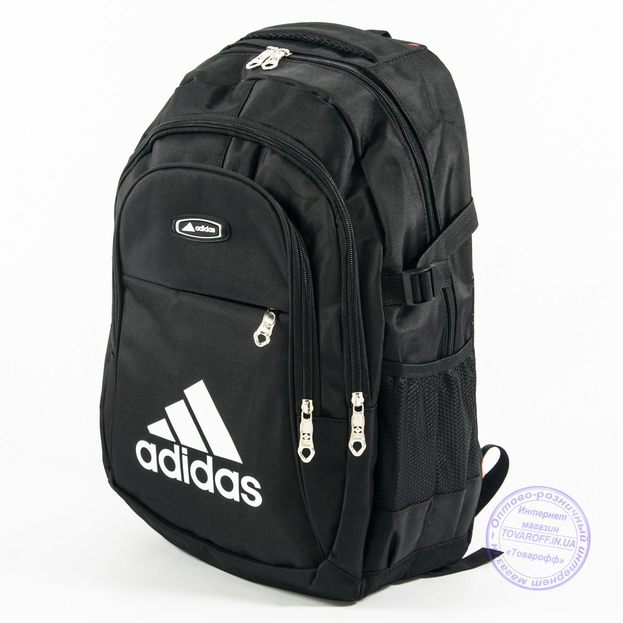 Спортивний рюкзак Адідас - чорний - adi-3