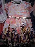 Нарядное платье с принцессой