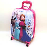 """Детский чемодан дорожный """"Josef Otten"""" Frozen-7, Холодное сердце на четырех колесах 520332"""