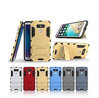 PC + TPU чехол Metal armor для LG G6  (6 цветов)
