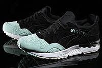 Кроссовки женские Asics Gel Lyte V Suede Toe Pack Black/Mint