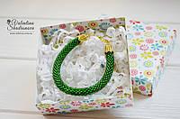 Браслет зеленый, фото 1